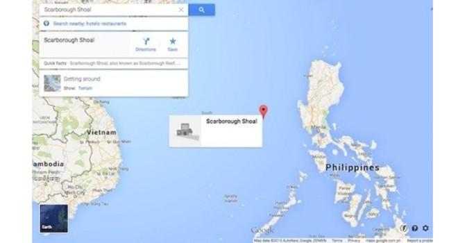 Vì sao Google Maps thay đổi bản đồ Biển Đông?
