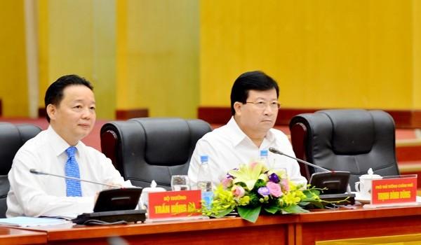 Phó thủ tướng: Cần công bố môi trường biển miền Trung