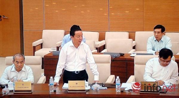 Bộ trưởng Trần Hồng Hà: Chính phủ sẽ rất hoan nghênh nếu Quốc hội giám sát Formosa