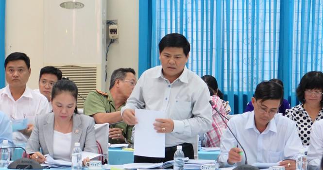 """Nguyên Chủ tịch UBND Huyện Hóc Môn sửa báo cáo mật, làm """"rối loạn"""" quy hoạch huyện"""