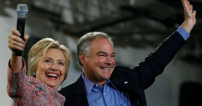 Bà Hillary Clinton chính thức chọn ứng viên phó tổng thống