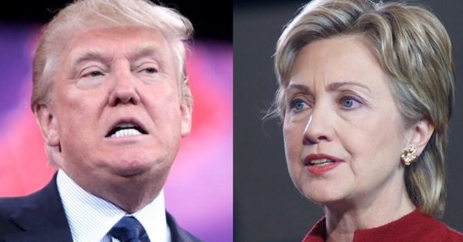 Donald Trump vượt lên dẫn điểm trước Hillary Clinton