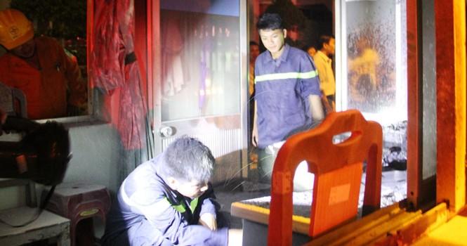 Cháy Trung tâm phát triển quỹ đất Đà Nẵng