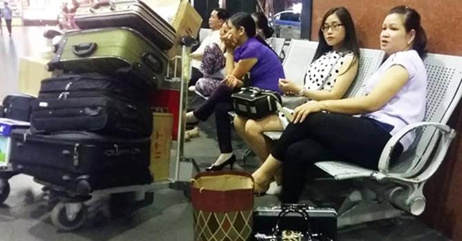 Bao nhiêu hành khách đã bị chậm chuyến vì tin tặc tấn công mạng?
