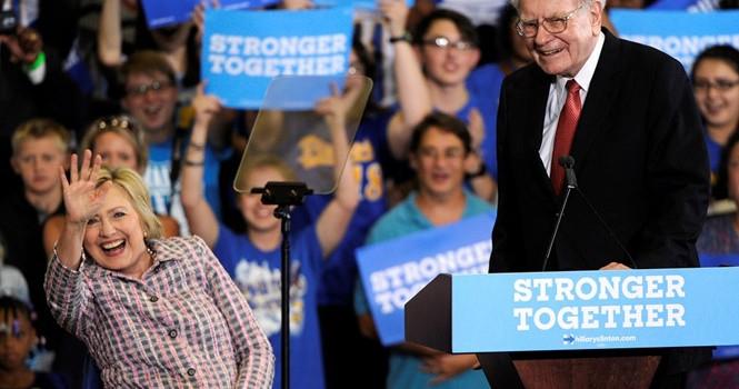Warren Buffett chỉ trích, thách Donald Trump công khai thuế