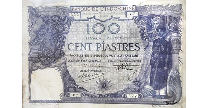 Chuyện ít biết về Sài Gòn xưa: Đồng bạc dùng chung cho Đông Dương