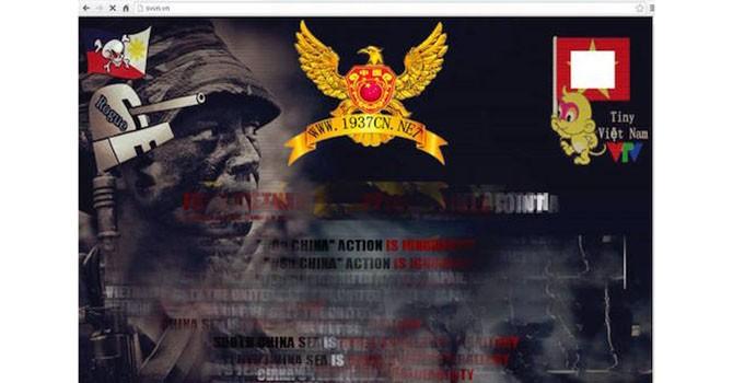 Trang web báo Sinh viên Việt Nam bị hacker tấn công