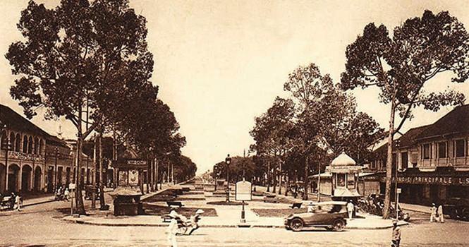 Chuyện ít biết về Sài Gòn xưa: Con đường trung tâm thương mại