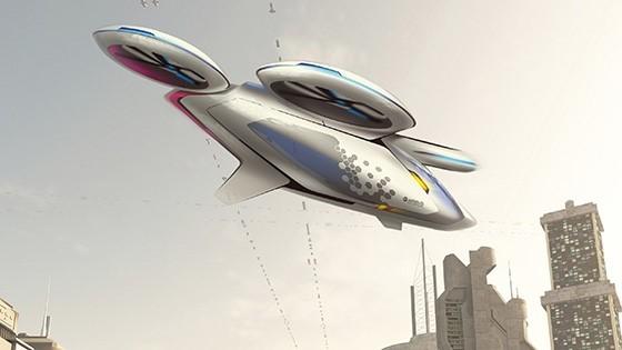 """Airbus chuẩn bị thử nghiệm """"taxi bay"""" không người lái"""