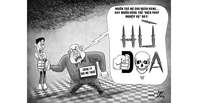 """Ngân hàng đòi nợ kiểu """"khủng bố khách hàng"""""""