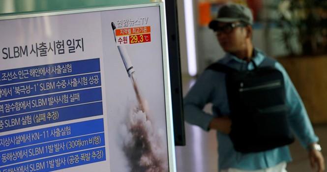 Triều Tiên tiến bộ đáng kinh ngạc trong công nghệ phóng tên lửa từ tàu ngầm