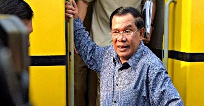 Ông Hun Sen phản hồi Facebooker Việt Nam về vụ Biển Đông