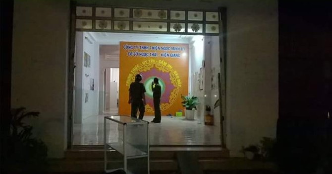 """Đại lý công ty đa cấp Thiên Ngọc Minh Uy """"dọn đồ"""" lúc rạng sáng, nhiều người trình báo công an"""