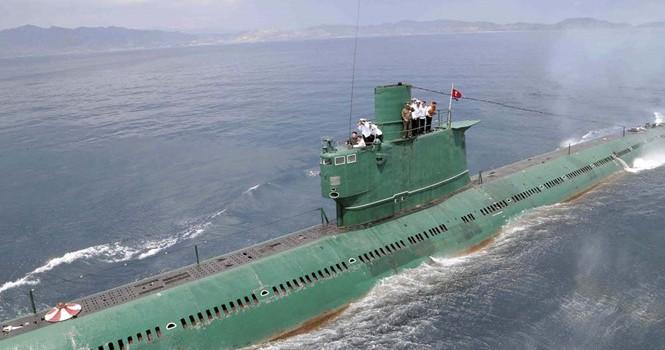 Triều Tiên tố Mỹ theo dõi tàu ngầm của mình