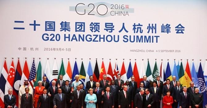 Yếu tố nào quyết định vị trí đứng khi chụp ảnh của lãnh đạo G20?