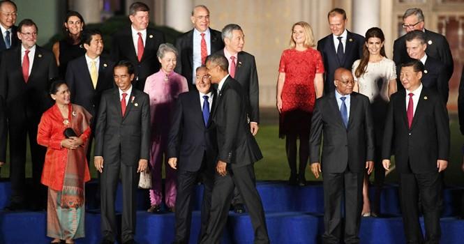Tranh cãi lễ tân phủ bóng hội nghị G20