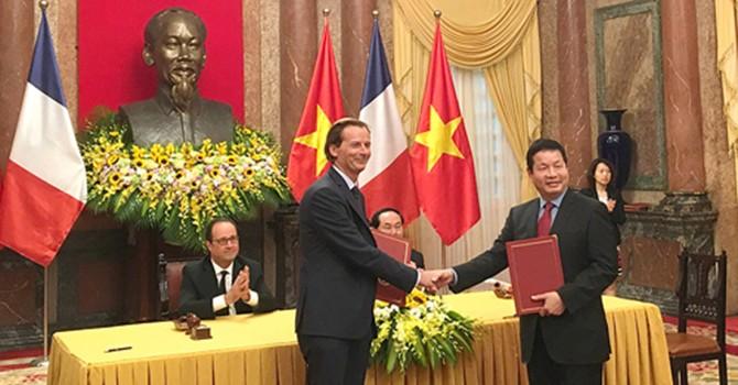 Doanh nghiệp Pháp khai thác cao tốc, xây trạm quan sát Trái đất tại Việt Nam