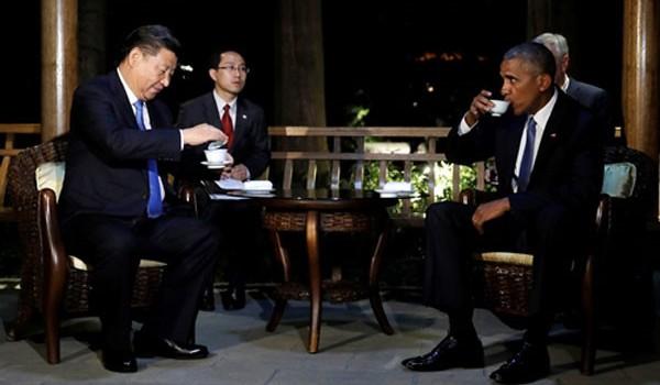 Dụng ý của ông Tập trong cuộc trà đêm với Obama