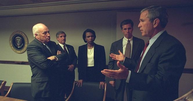 Lộ bản viết tay về phản ứng của tổng thống Bush ngày 11/9/2001