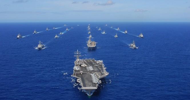 Tây Thái Bình Dương nổi sóng vì tập trận