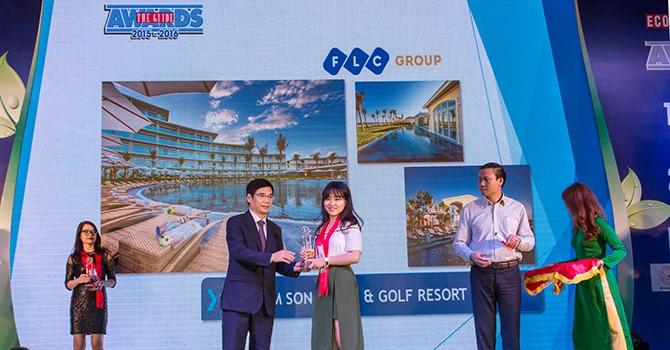 """FLC Sầm Sơn đạt giải """"Quần thể du lịch nghỉ dưỡng có kiến trúc đẹp nhất"""" tại The Guide Award 2016"""