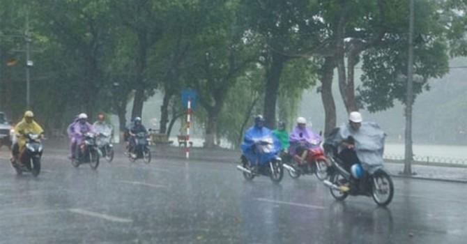 Bão số 4 đã suy yếu thành áp thấp nhiệt đới