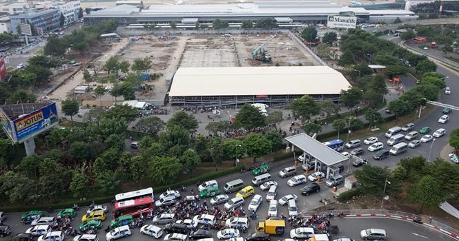 Kẹt xe ở sân bay Tân Sơn Nhất: Đề xuất mở rộng một số đường