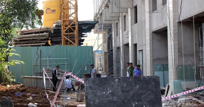Đứt cáp vận thăng do Trung Quốc sản xuất ở công trình cao 16 tầng, 1 người chết