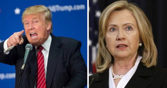 Ông Trump và bà Clinton đấu khẩu sau các vụ tấn công ở Mỹ