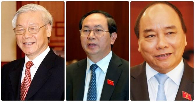 Tổng bí thư, Chủ tịch nước, Thủ tướng cùng tham gia Đảng ủy Công an Trung ương