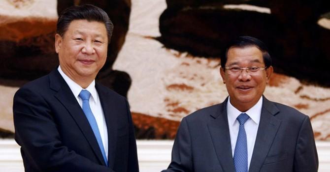 Trung Quốc hào phóng với Campuchia