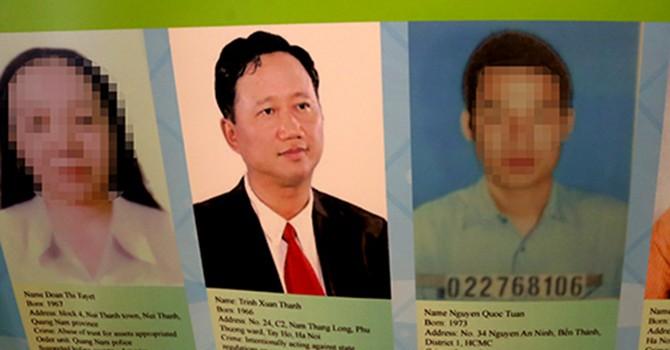 """Bộ Công an: """"Truy bắt bằng được nghi can Trịnh Xuân Thanh"""""""