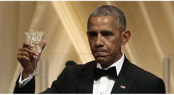 Tổng thống Obama ngậm ngùi trong quốc yến cuối cùng