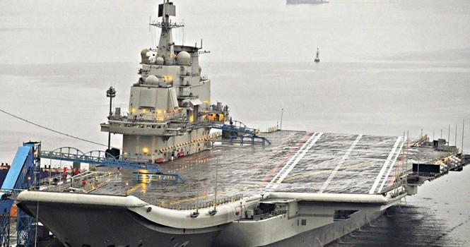 Trung Quốc thông báo đóng xong thân tàu sân bay nội địa đầu tiên