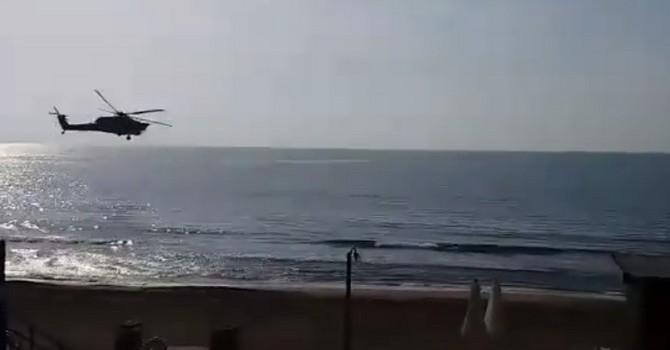 """[Video] Phát hiện """"máy bay trực thăng tuyệt mật của Nga"""" trên bầu trời Syria"""