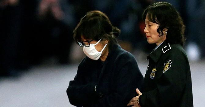 Tòa án Hàn Quốc ban lệnh bắt giam bạn thân tổng thống