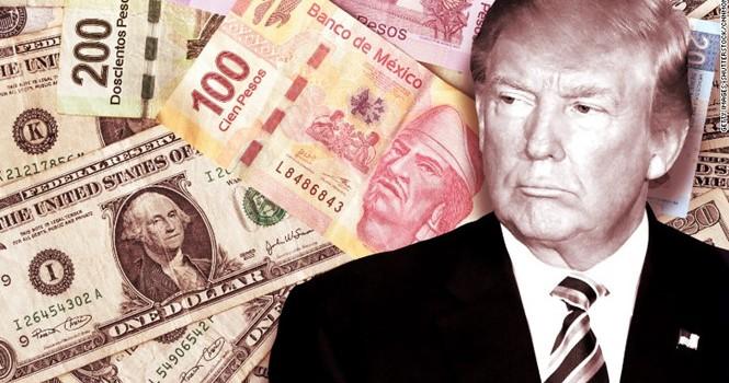 """Nội tệ Mexico """"khốn đốn"""" vì tân Tổng thống Donald Trump"""