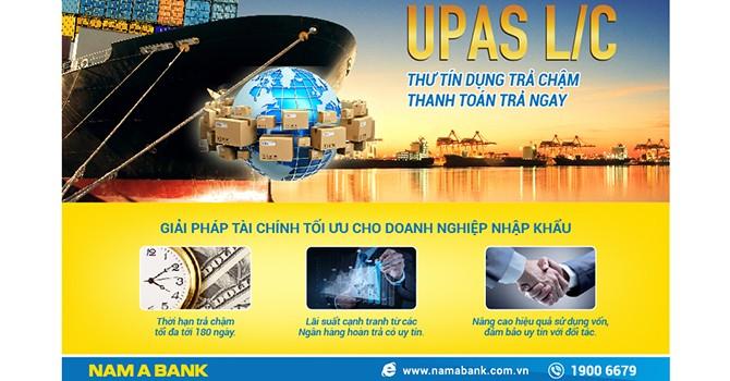 Nam A Bank ra mắt sản phẩm tiện ích: Thư tín dụng trả chậm thanh toán trả ngay - UPAS L/C