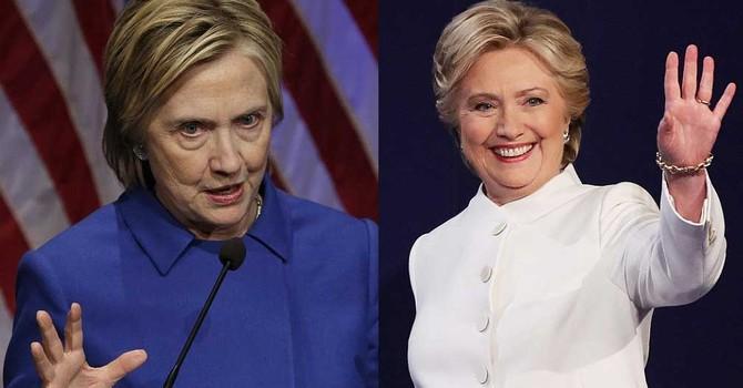 Hillary ngừng trau chuốt bề ngoài sau khi thất cử