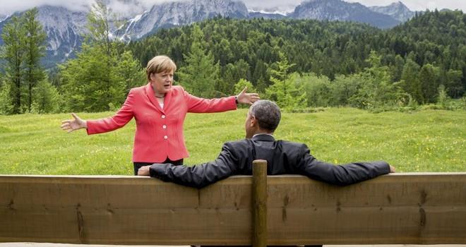 Tình bạn lâu năm Obama - Merkel