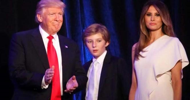 Con trai ông Donald Trump không chuyển trường, phụ huynh lo lắng vì vấn đề an ninh