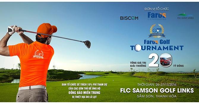 Voucher FLC Sầm Sơn siêu hấp dẫn dành tặng Gôn thủ Faros Golf Tournament lần 2