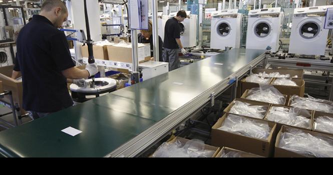 Xuất khẩu máy giặt Nga đạt kỷ lục nhờ đồng rúp yếu