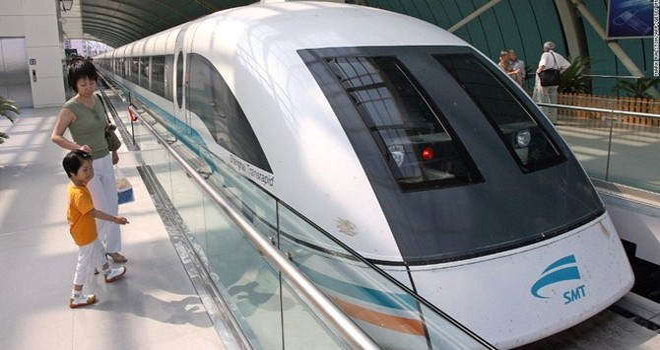Tàu hỏa 600 km/h: Trung Quốc đòi vượt Nhật