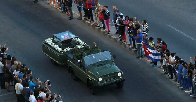 Hành trình cuối cùng của lãnh tụ Fidel Castro về nơi an nghỉ