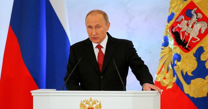 Tổng thống Putin đọc thông điệp liên bang: Nga cần bạn bè, không muốn đối đầu