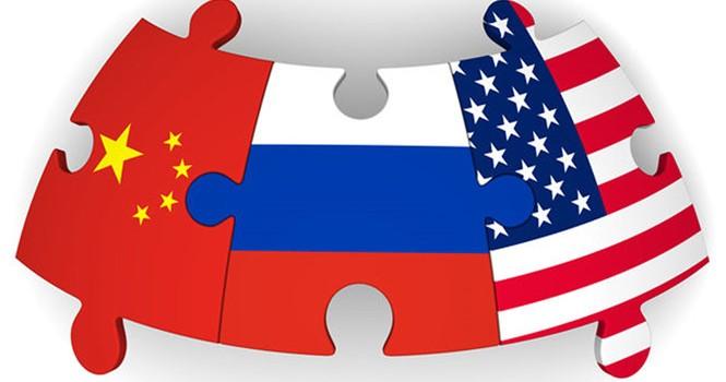 """""""Tam quốc"""" Mỹ - Nga - Trung tiếp tục chi phối cục diện thế giới 2017"""