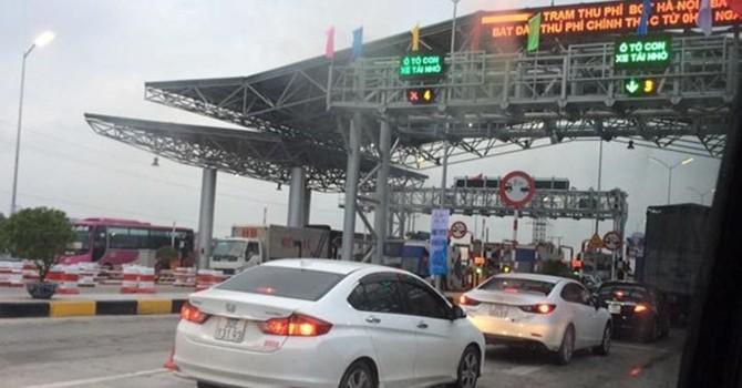 Phát hiện chênh lệch lớn ở trạm thu phí BOT Hà Nội - Bắc Giang