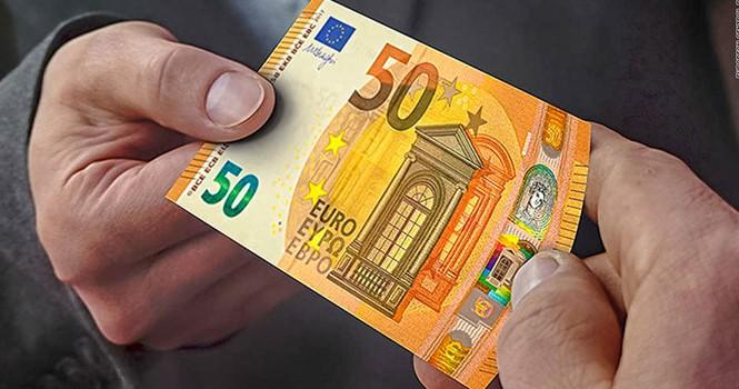 Tờ 50 euro mới sắp được đưa vào lưu hành