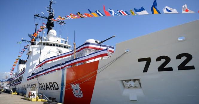 Tàu tuần duyên Mỹ làm lễ giải ngũ, sắp bàn giao cho Việt Nam